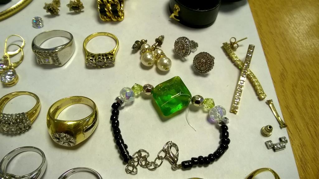 Haul: Items recovered from a prolific crime gang by Cambridgeshire police who are asking for the owners to come forward PICTURES: SWNS
