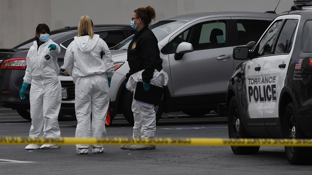 Three dead after shooting attack at California bowling alley