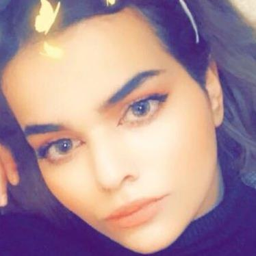 Scared: Rahaf 'tried to flee' PICTURE: TWITTER