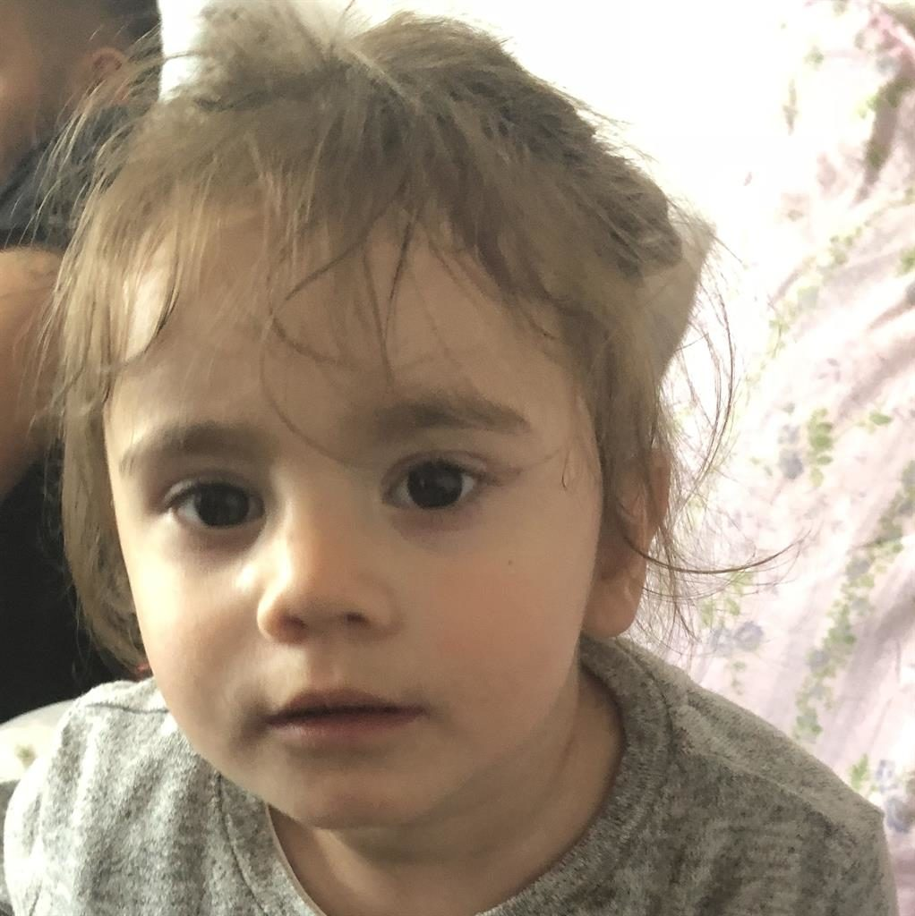 'Perfect': Family tell of relief as ordeal ends for 17-month-old Maria Tudorica