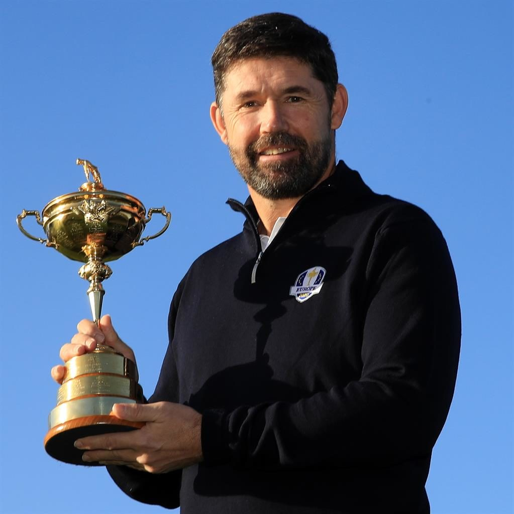 Harrington chosen as Europe's Ryder Cup skipper