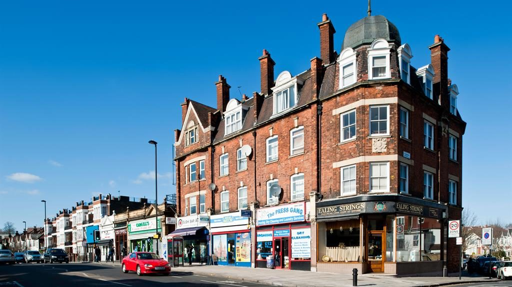 Bags of charm: Ealing Common has good shopping and transport links PICTURE: ALAMY