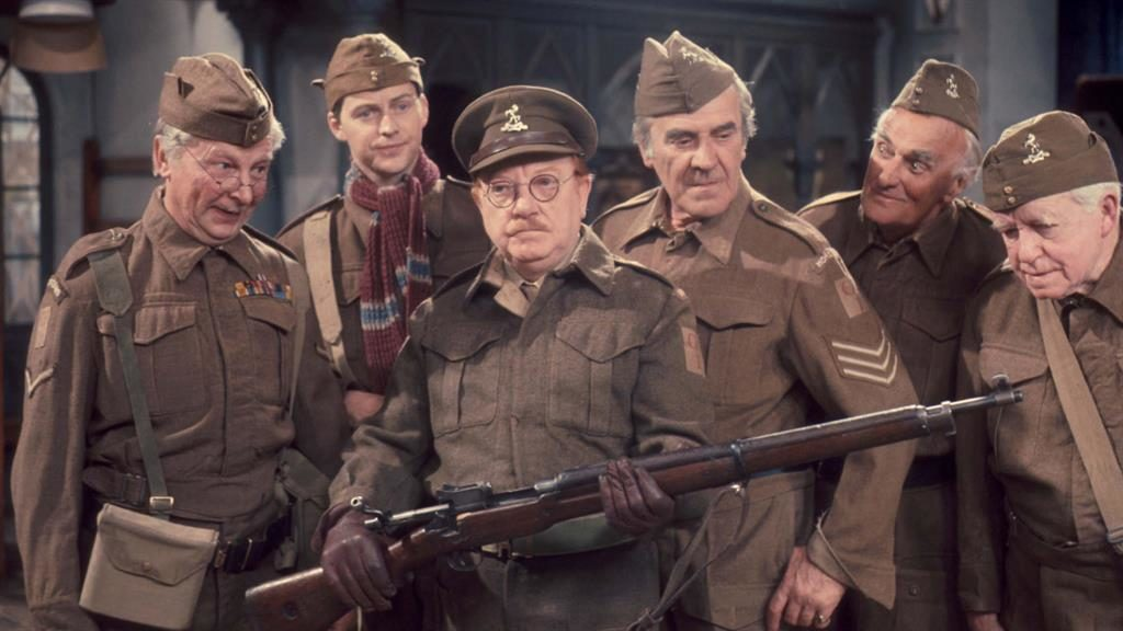 'Understudies': Original Dad's Army cast and (below, clockwise from top left) Bernard Cribbins, Robert Bathurst, Kevin McNally and David Hayman