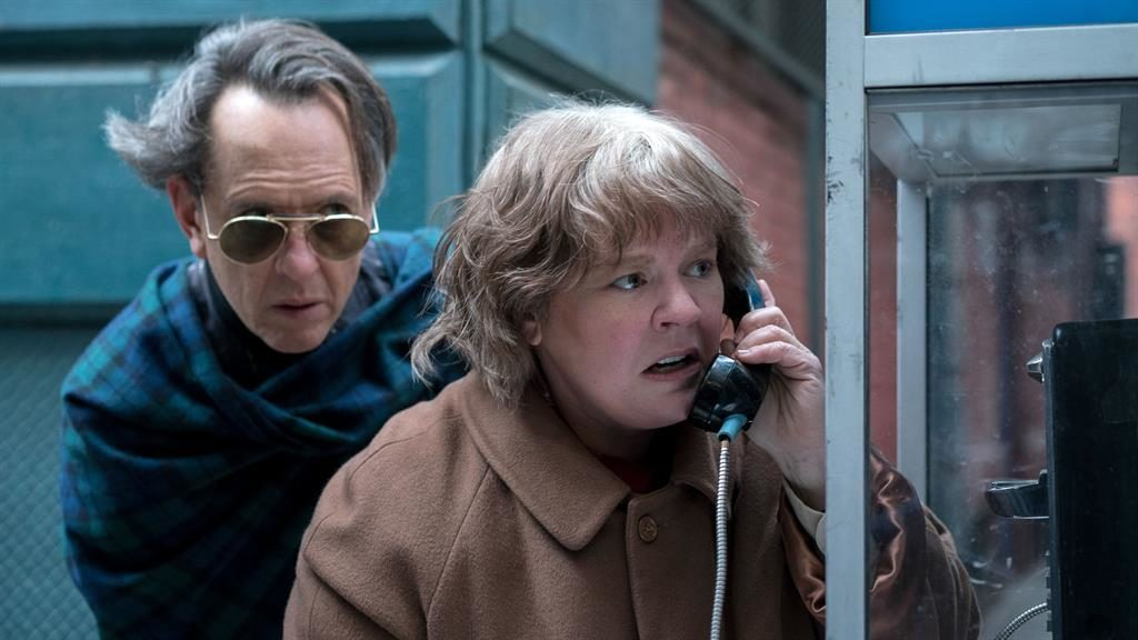 Chemistry lesson: Richard E Grant and Melissa McCarthy are the making of Can You Ever Forgive Me?