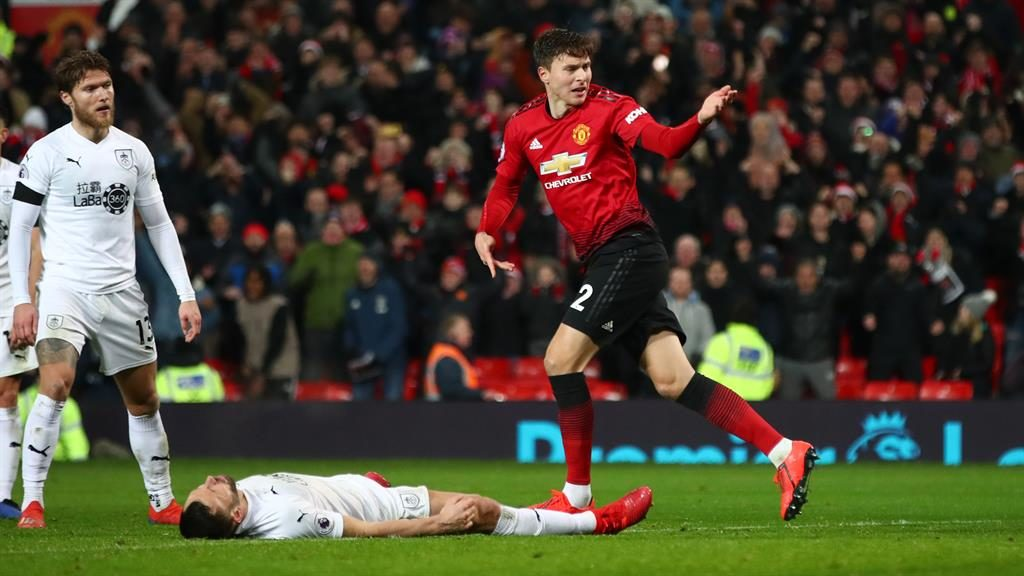 Late show: Lindelof levels to floor Burnley's hopes of victory PICTURE: GETTY