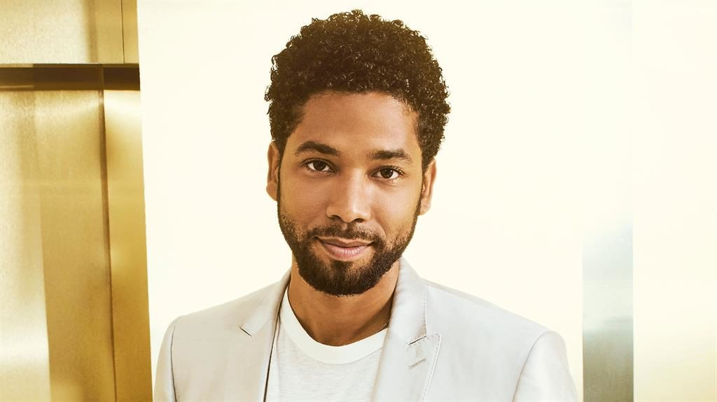 TV role: Jussie Smollett is gay in real life and on screen in Fox show Empire PICTURE: FOX/GETTY