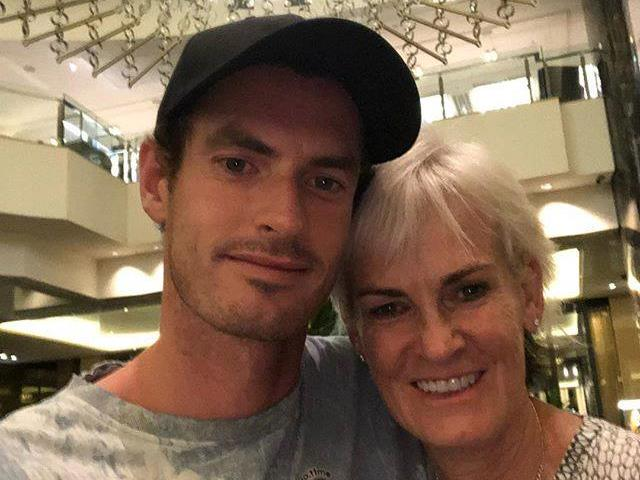 Football writer called Andy Murray receives mistaken messages of support