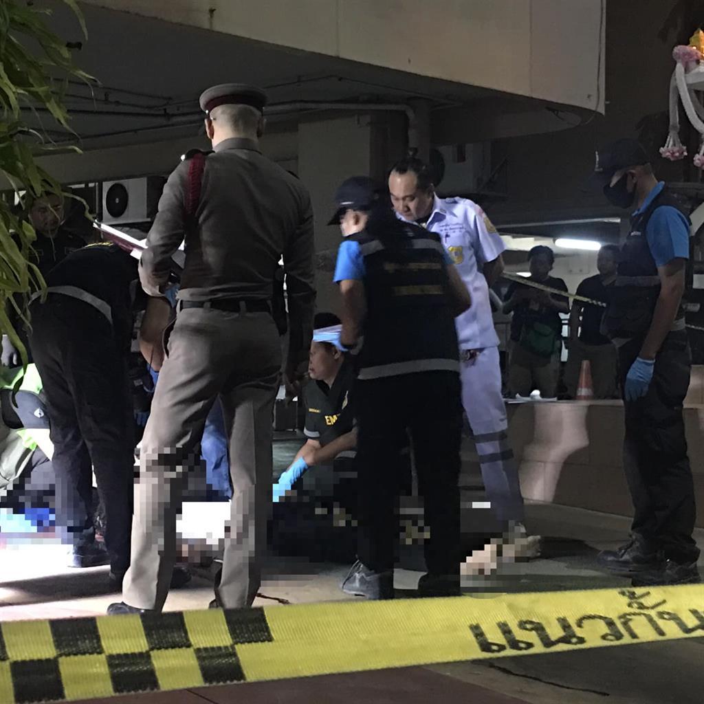 Scene: Paramedics at hotel