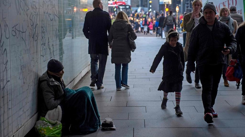 Count: 4,677 are sleeping rough, data shows PICTURE: GETTY