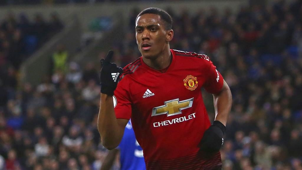 Solskjaer: Martial can get better like Ronaldo