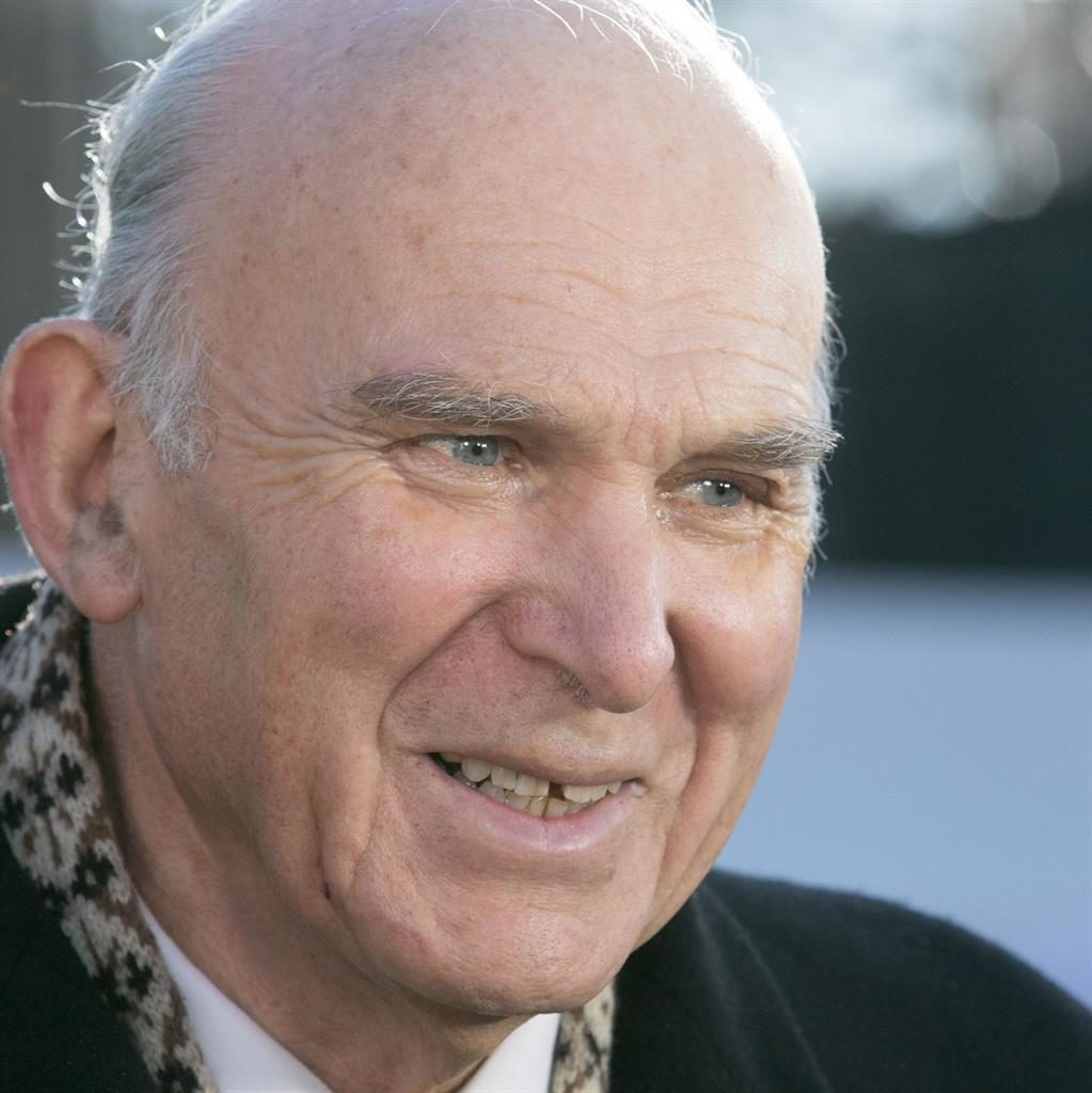 Referendum: Sir Vince Cable PICTURE: REX