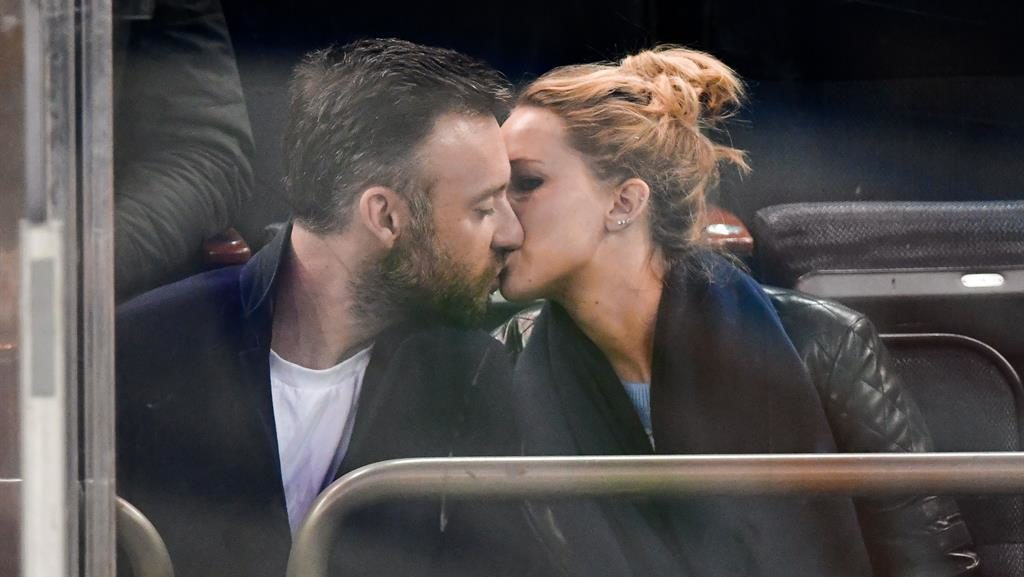 Must be love: J-Law and Cooke pictured last year