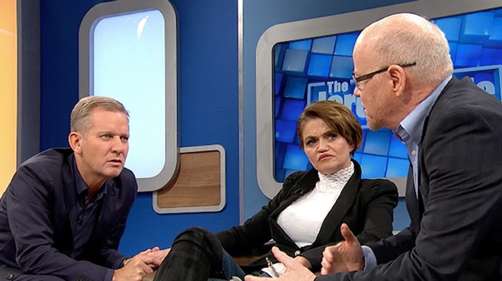 Addiction: Westbrook  on The Jeremy Kyle Show PICTURE: PA