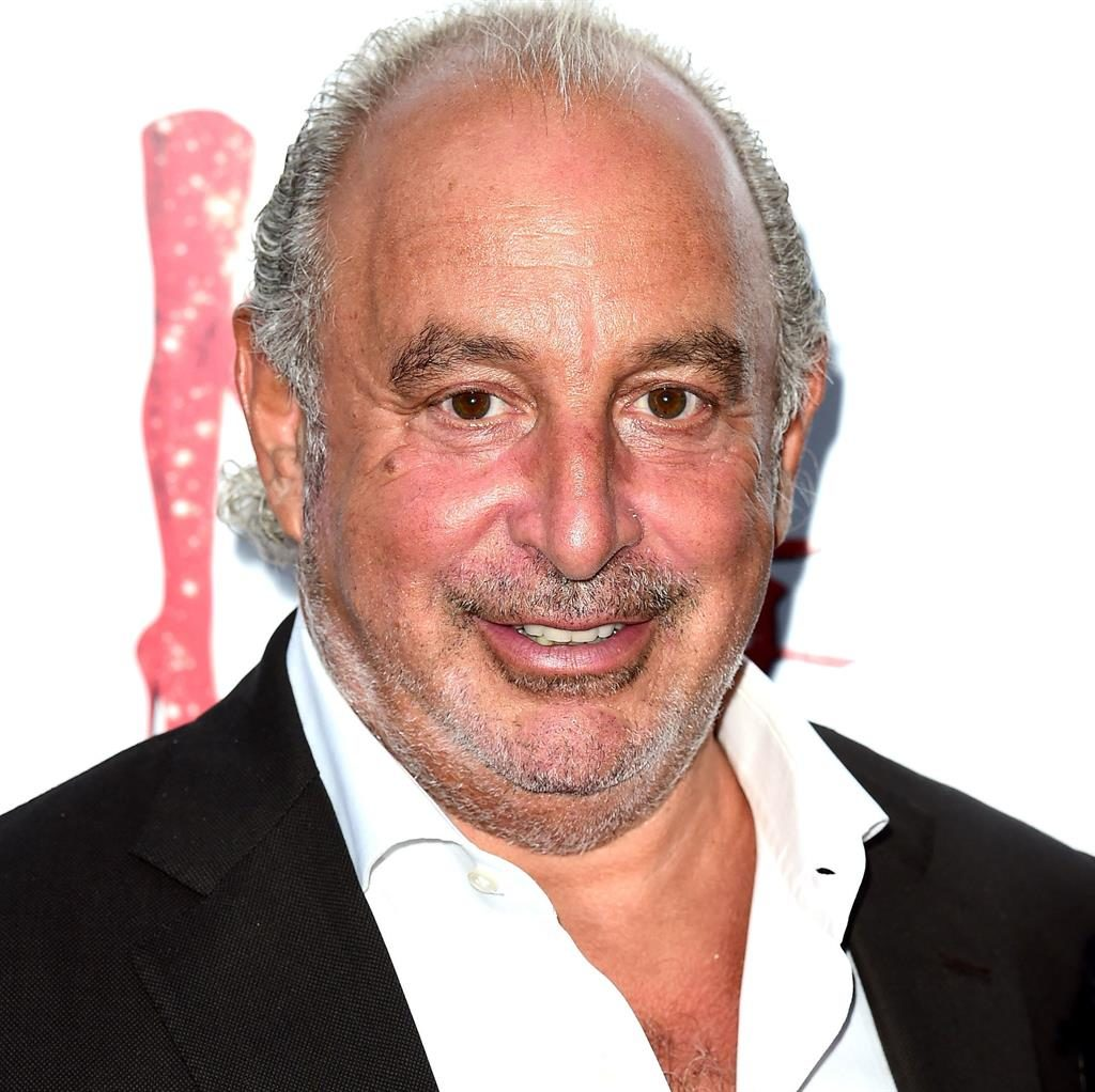 'Put woman in a headlock': Sir Philip Green is said to have paid millions of pounds to silence aggrieved employees PICTURE: PA