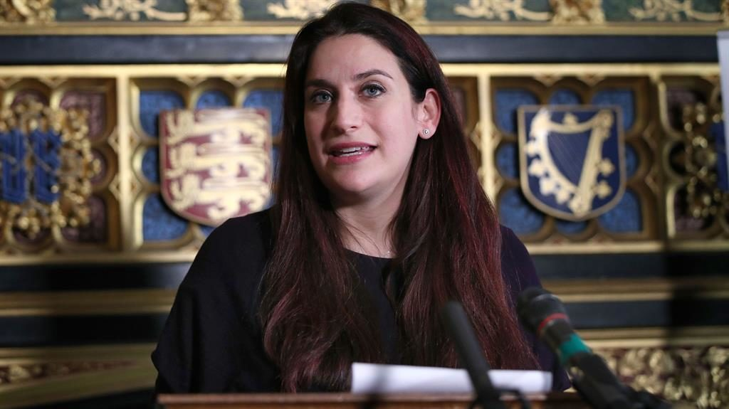 'Death threats': Luciana Berger has been a target of anti- Semitism PICTURE: PA