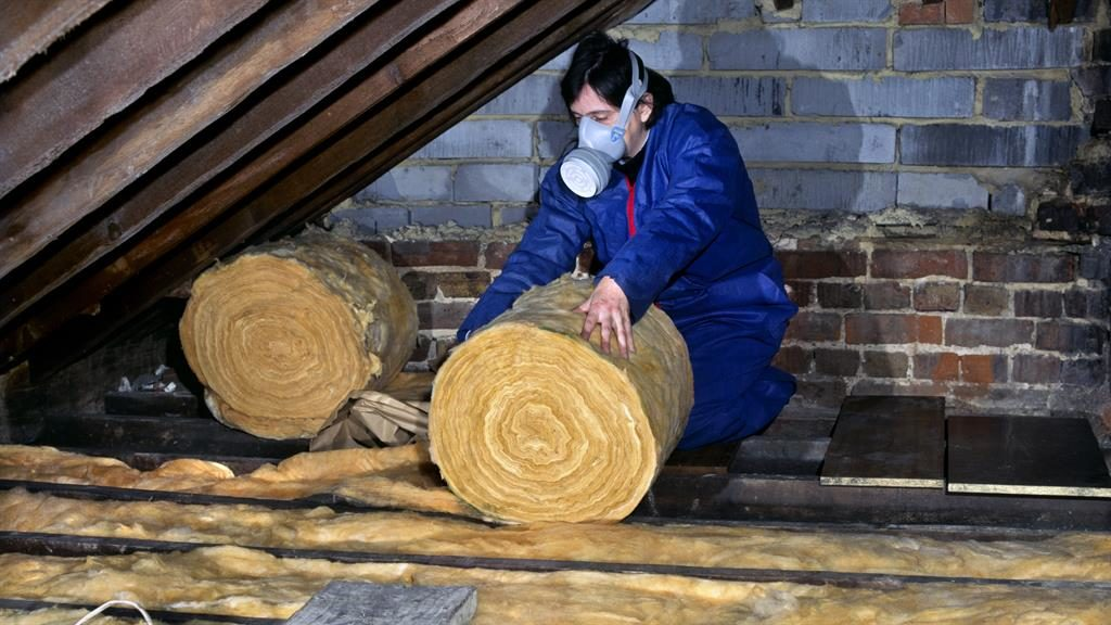 Heat saver: Good loft insulation will pay for itself many times over