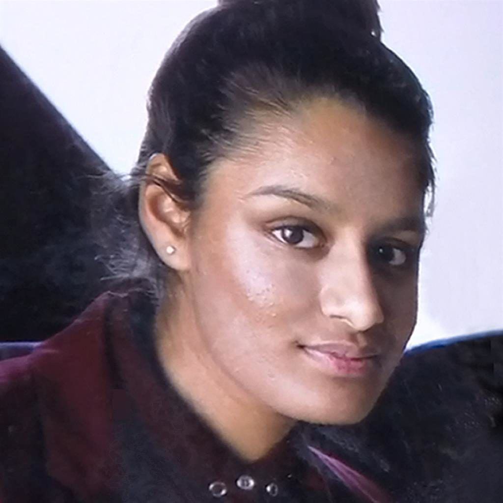 Flight: Shamima Begum was one of three schoolgirls who left the UK together in 2015 to become Jihadi brides in Syria PICTURE: REX
