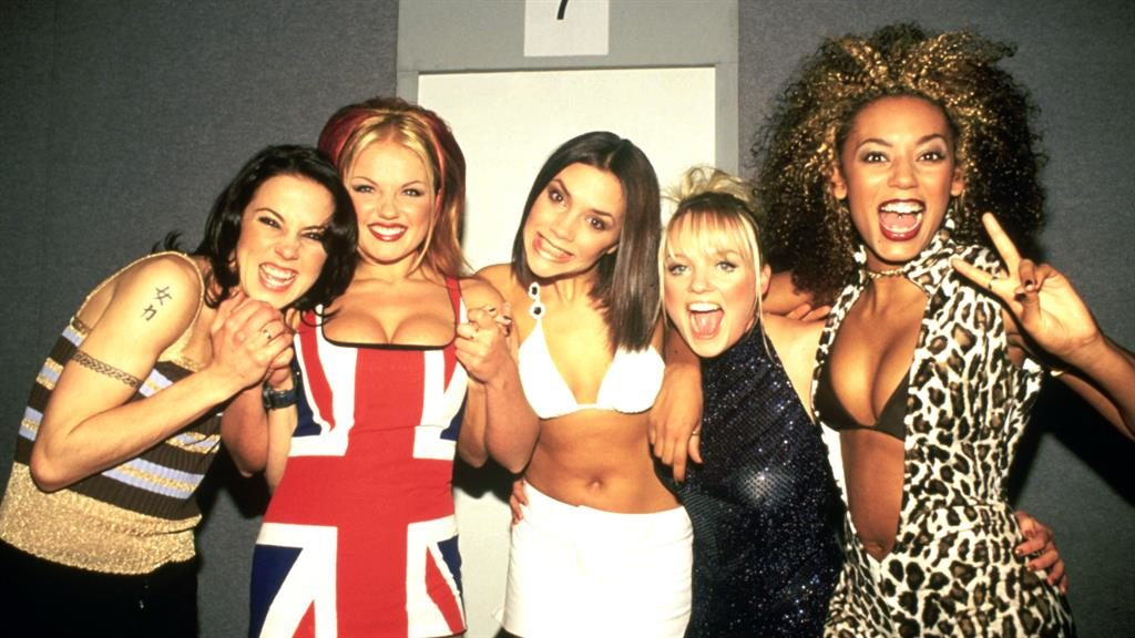 Nostalgic: One of Jax Jones's first memories of the Brits was The Spice Girls PICTURE: GETTY