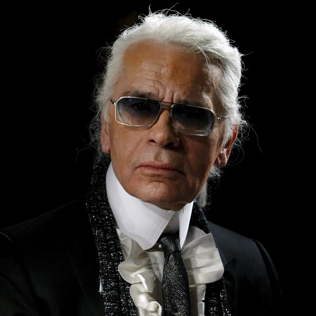 Fashion icon: Karl Lagerfeld has died aged 85 PICTURE: EPA