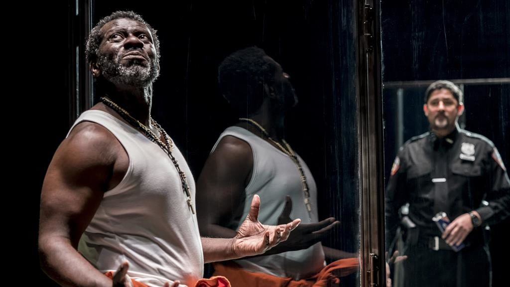 Hard cell: Oberon K.A. Adjepong plays a serial killer and Joplin Sibtain is his violent guard