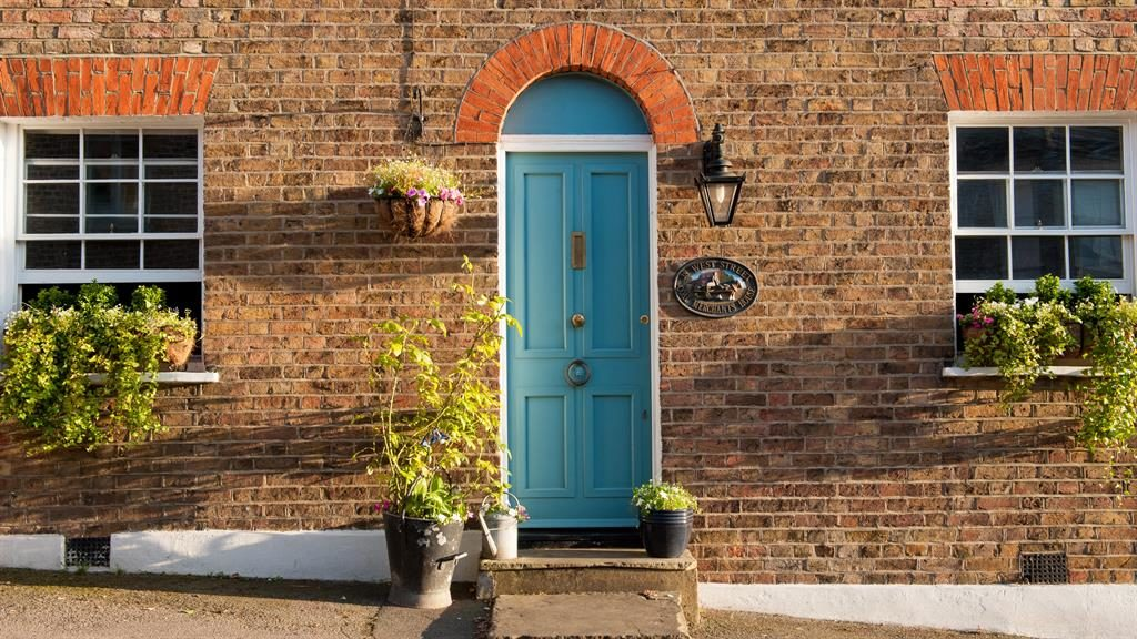 Plenty of front: A tidy exterior will attract more buyers PICTURE: ALAMY