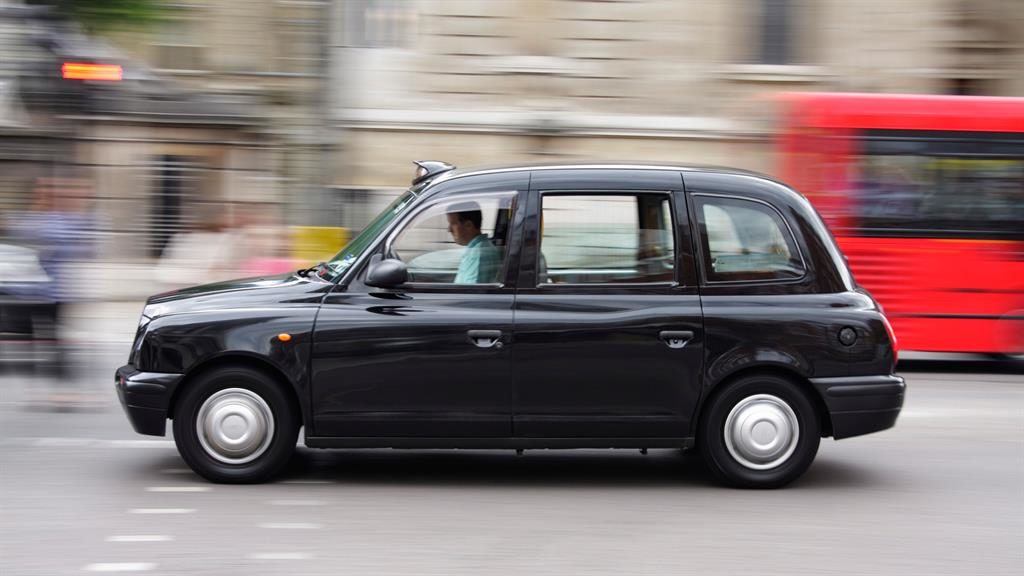 Challenge: A London Hackney cab PICTURE: ALAMY