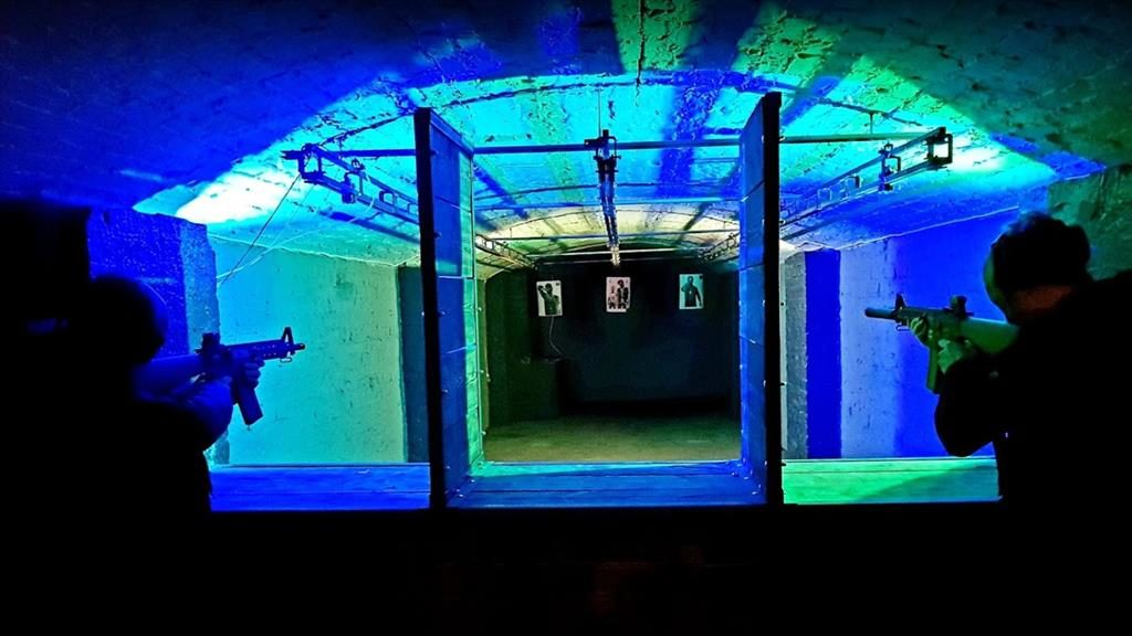 Gun for all the family: The underground range welcomes kids as young as six