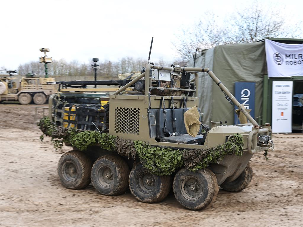 Connect: Welcome to 'the biggest military robot exercise in