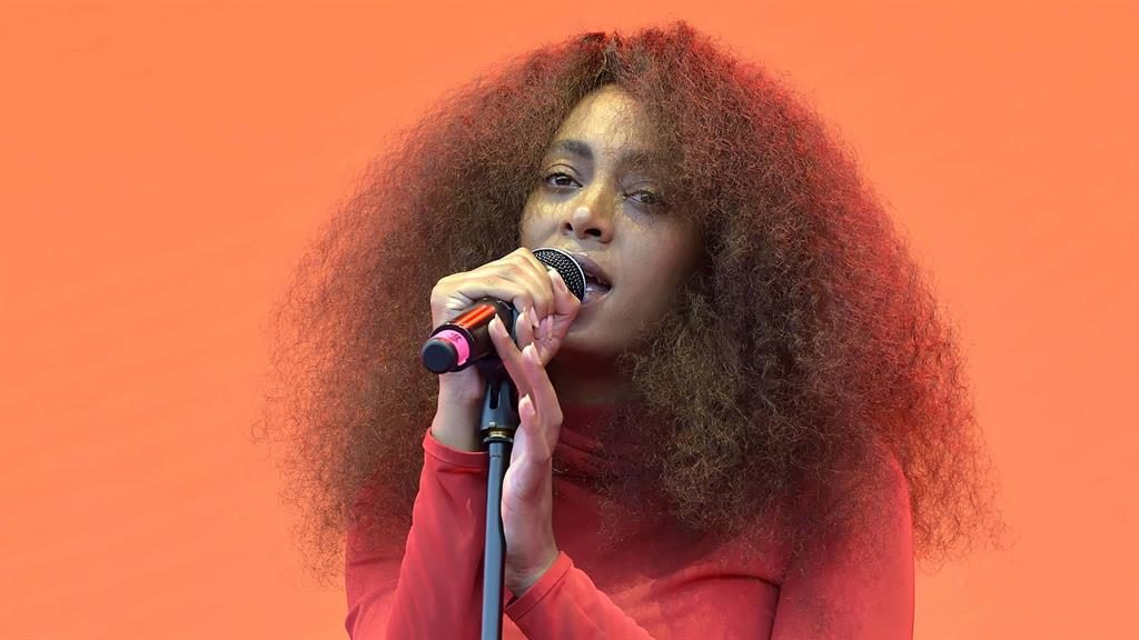 Evolving: Solange Knowles PICTURE: REX