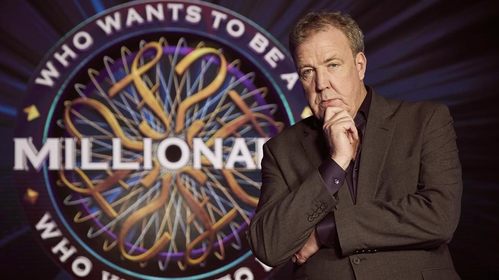 Speculation: Will Clarkson crown his very own first millionaire later this week? PICTURE: ITV