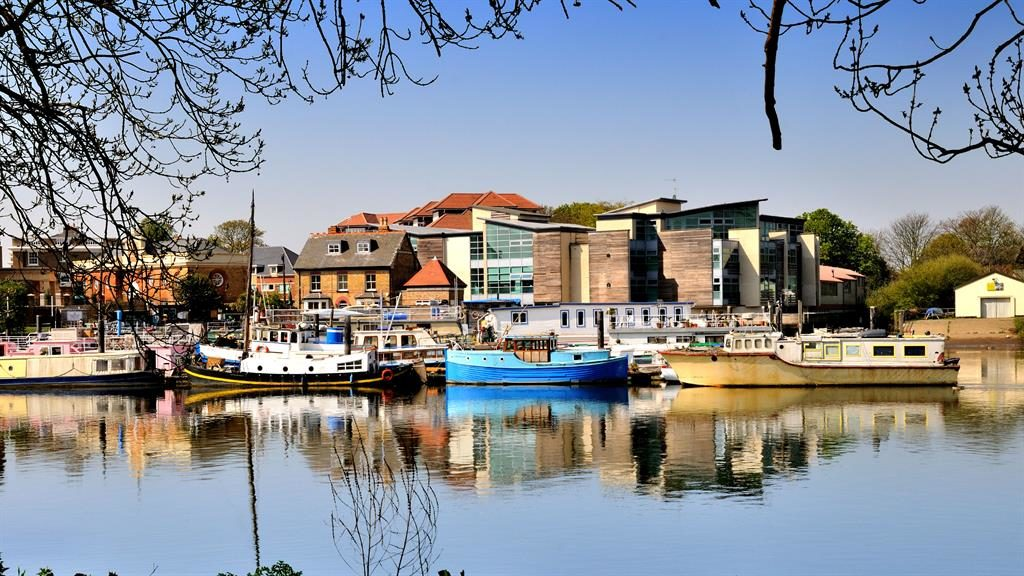 Riverside appeal: Isleworth is appealing and has good transport links PICTURE: ALAMY