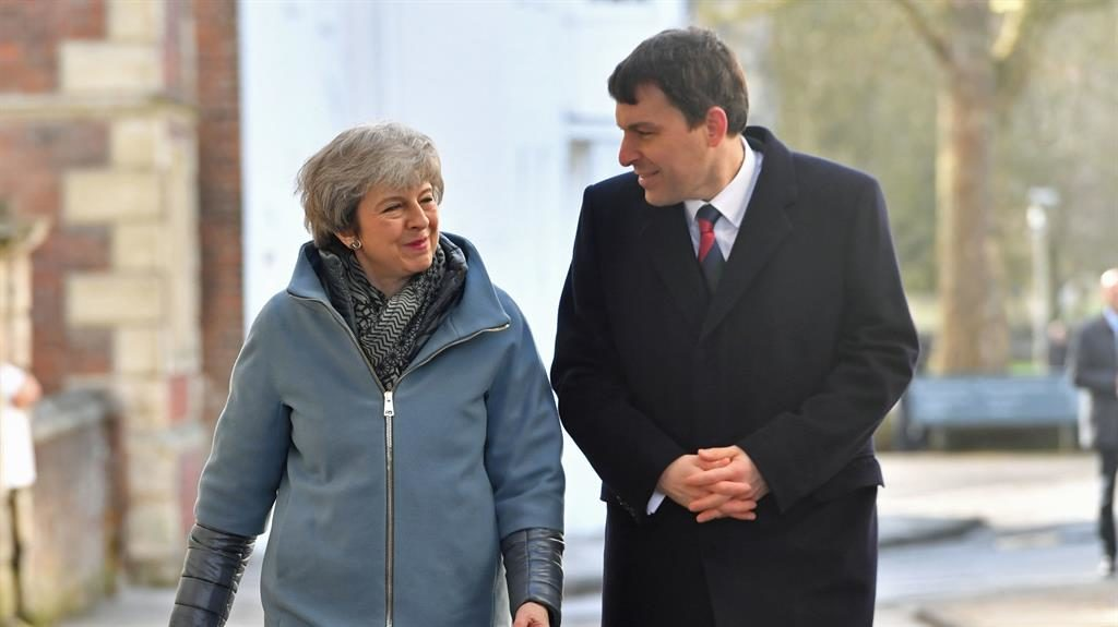 Theresa May marks Salisbury poisoning with picture of Bath