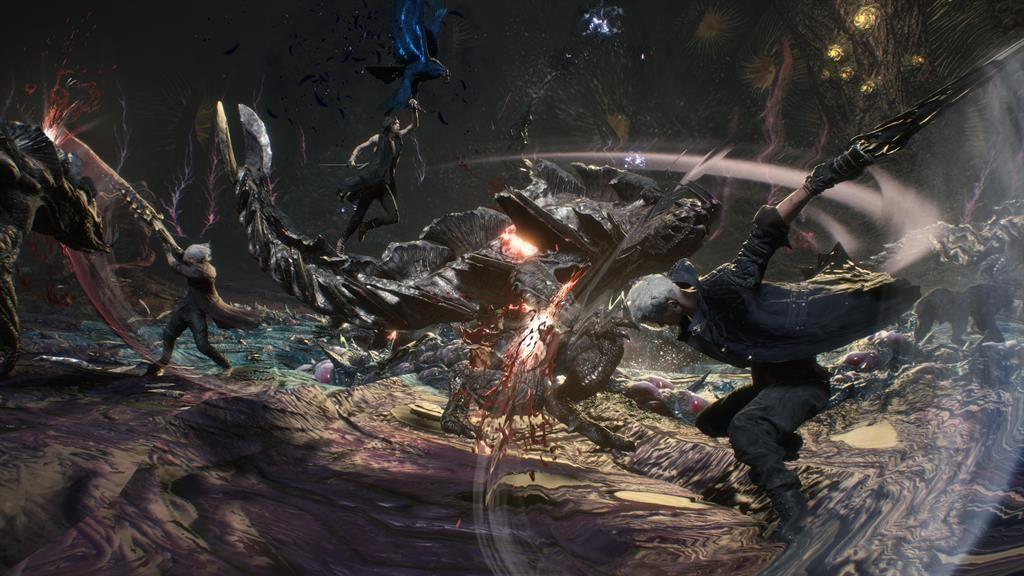 Games Reviews Devil May Cry 5 Metro Newspaper Uk