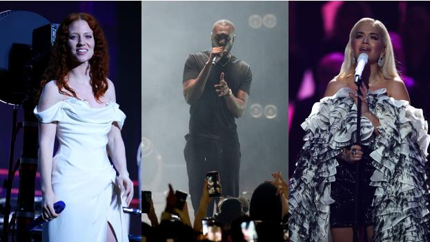 Stellar line-up: Jess Glynne, Stormzy and Rita Ora are just some of the names that have been announced PICTURES: REX