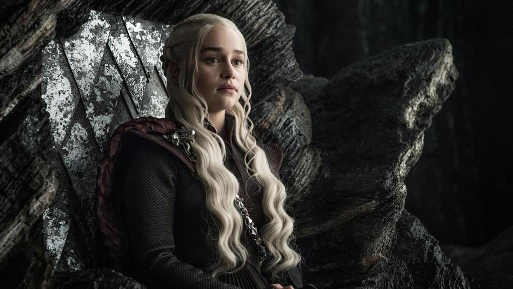 'Loads of tears': Emilia Clarke has revealed how she and her fellow cast members reacted as filming wrapped PICTURE: REX