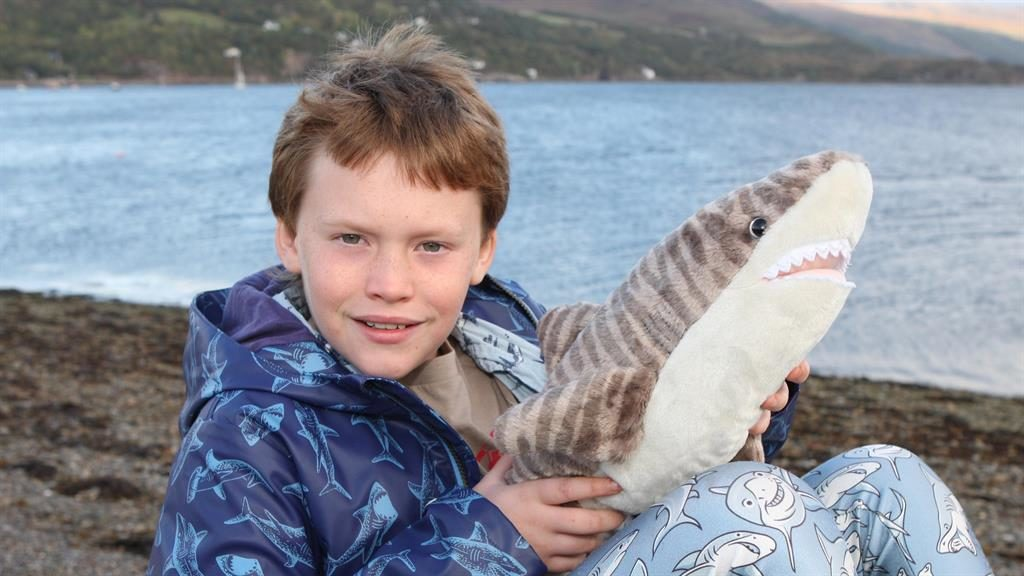 Young activist:  Finlay Pringle, who became interested in environmental issues after watching nature documentaries PICTURE: NORTHPIX