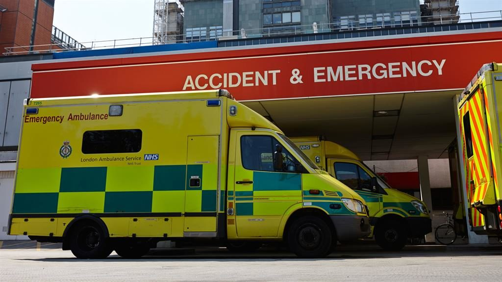 Under strain: Existing targets at hospital A&E units have not been met since 2015 PIC: ALAMY