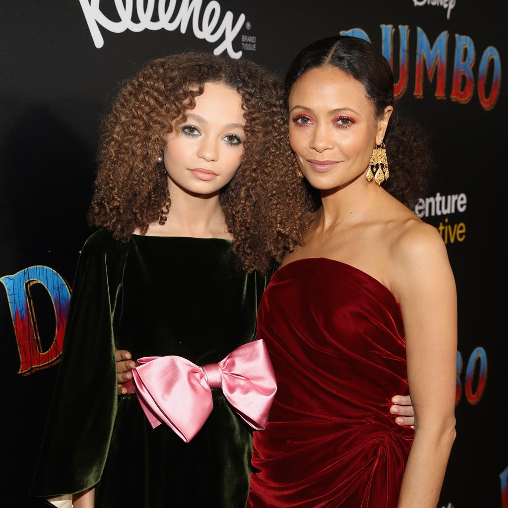 Surprising advice: Nico Parker and mum Thandie Newton PICTURE: GETTY