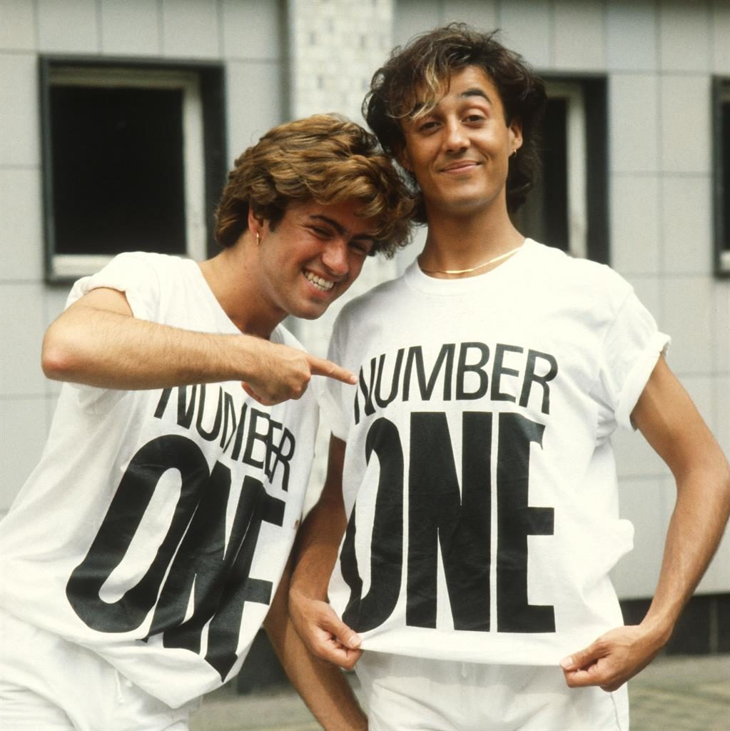Heyday: George Michael and Andrew Ridgeley in 1984