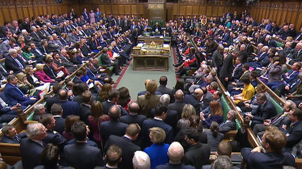 Parliament Again Votes Down May's Brexit Deal