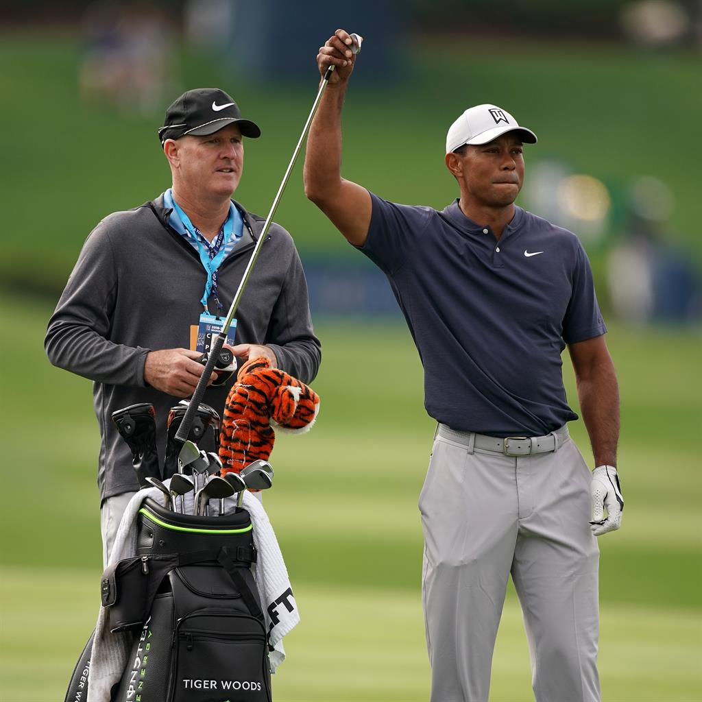 Tiger Woods 'on track' for the Masters despite recent neck injury