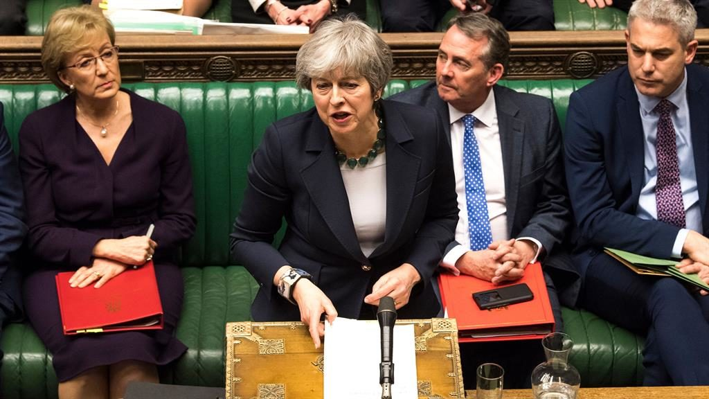 Defeated: Theresa May responds to the result of a Commons vote on Tuesday PICTURE: GETTY