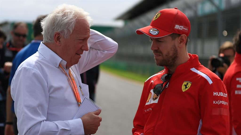 Respected figure Whiting talking to Vettel in Melbourne this week