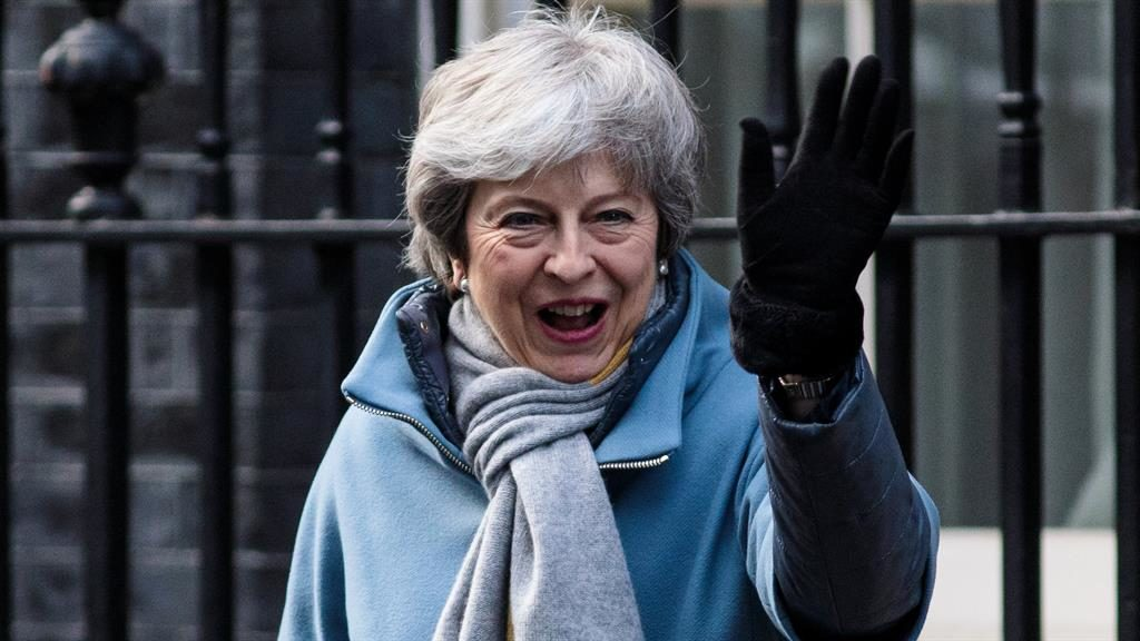 Third vote: Theresa May is due to bring her deal back before the Commons next week PICTURE: GETTY