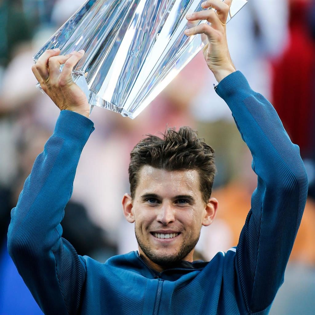 Thiem denies Federer sixth Indian Wells title