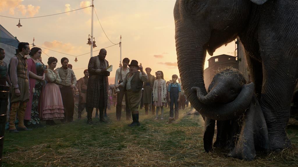 Tusk-master: Danny DeVito's circus ringmaster has his eyes on Dumbo