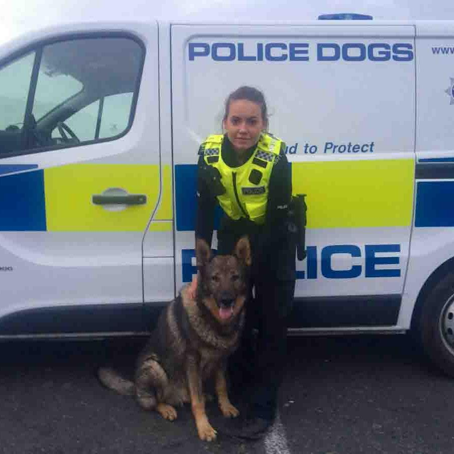 On beat: PC Katie Barratt has been given her job back, plus £15,000 in back pay PICTURE: NCJ MEDIA