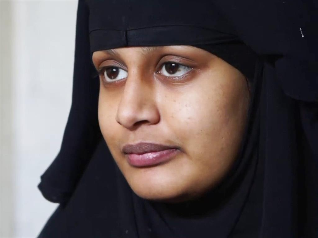Knew risks' Shamima Begum