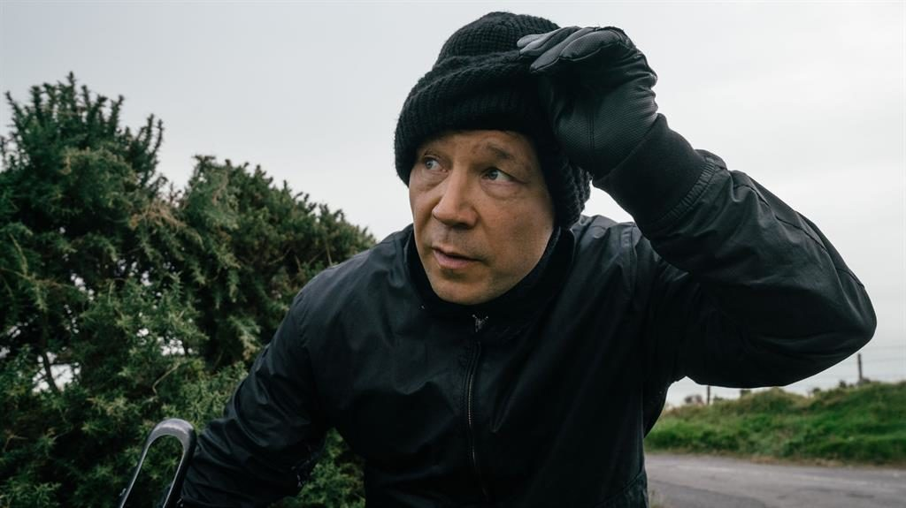 All things to all menace: Stephen Graham as the sinister Corbett. Below, Martin Compston, Vicky McClure and Adrian Dunbar PICTURES: BBC