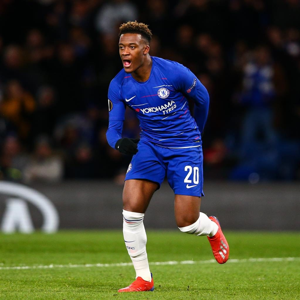 Big chance: Chelsea youngster Hudson-Odoi PICTURE: GETTY